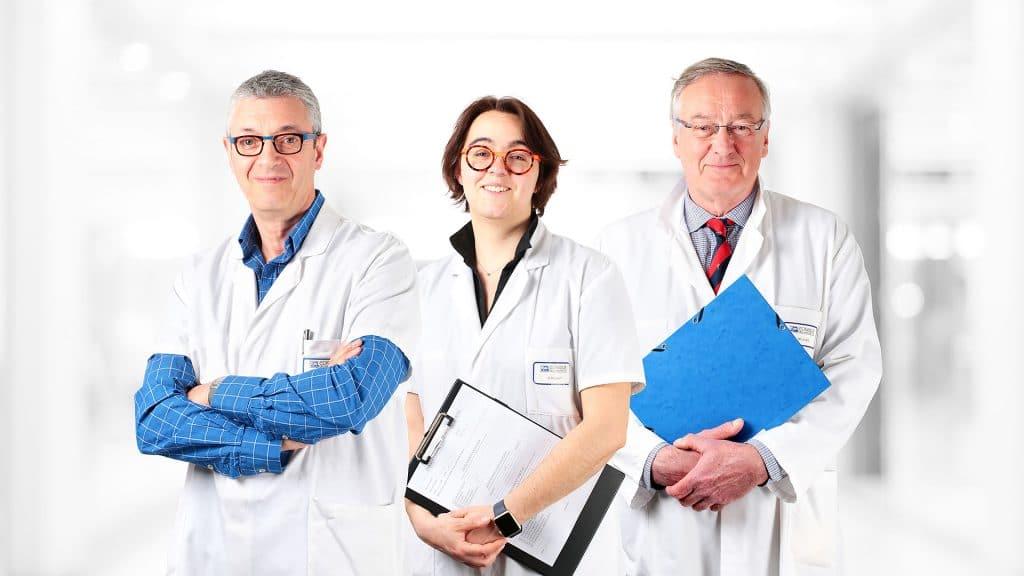 Urologues à Orléans - Photo des urologues de la clinique de l'Archette à Olivet (Loiret)